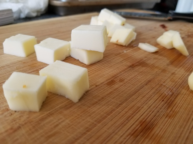 6. Cubed Butter