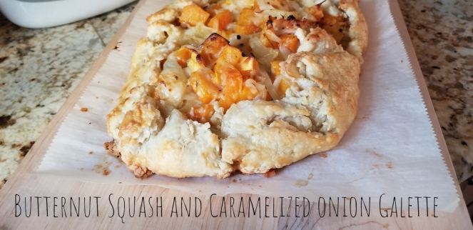Butternut Squash And Caramelized Onion Galette Review The